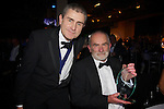 Pix: Shaun Flannery/shaunflanneryphotography.com...COPYRIGHT PICTURE>>SHAUN FLANNERY>01302-570814>>07778315553>>..13th December 2012..Doncaster Chamber Business Awards 2012...Lifetime Achievement Award..Ron Alcock (right) of Weldricks with Andrew McKenna, CEO Doncaster Chamber.