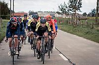 Alex Edmondson (AUS/Mitchelton-Scott)<br /> <br /> 82nd Gent-Wevelgem in Flanders Fields 2020 (1.UWT)<br /> 1 day race from Ieper to Wevelgem (232km)<br /> <br /> ©kramon