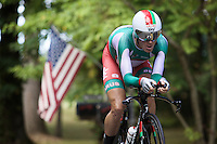 Vasil Kiryienka (BLR/SKY) on his way to the rainbow colors<br /> <br /> Elite Men TT<br /> UCI Road World Championships / Richmond 2015