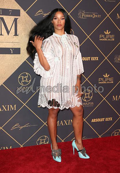 25 June 2017 - Hollywood, California - Joseline Hernandez. 2017 MAXIM Hot 100 Party held at the Hollywood Palladium. Photo Credit: F. Sadou/AdMedia
