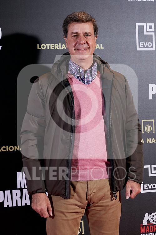 Cayetano Martinez de Irujo attends to 'Morir para contar' film premiere during the Madrid Premiere Week at Callao City Lights cinema in Madrid, Spain. November 13, 2018. (ALTERPHOTOS/A. Perez Meca)