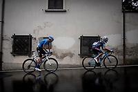 Davide Baldaccini (ITA/Colpack-Ballan) & Anton Kuzmin (KAZ/Gazprom-RusVelo) <br /> <br /> Grande Trittico Lombardo 2020 (1.Pro/ITA)<br /> 1 day race from Legnano to Varese (200km)