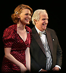 "Holley Fain and Henry Winkler during the Roundabout Theatre Company One-Night Only Benefit Reading Curtain Call for  ""Twentieth Century"" at Studio 54 on April 29, 2019 in New York City."