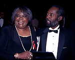 Vernita Lee and Vernon Winfrey, Parents of Oprah Winfrey, attends the Academy of Television Arts and Sciences' Hall of Fame at the Walt Disney World on October 1, 1994 in Orlando, Florida.