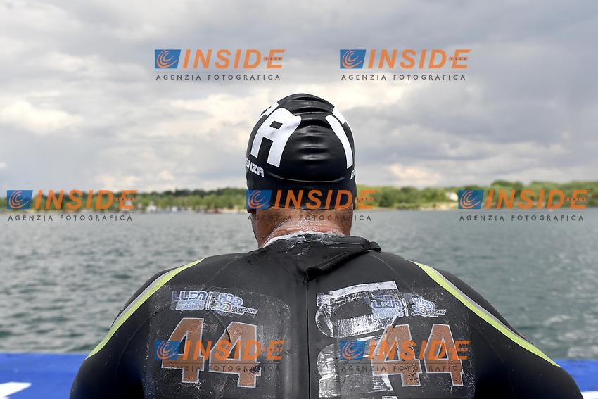 ACERENZA Domenico ITA <br /> Team Event 5 km<br /> Open Water<br /> Budapest  - Hungary  15/5/2021<br /> Lupa Lake<br /> XXXV LEN European Aquatic Championships<br /> Photo Andrea Staccioli / Deepbluemedia / Insidefoto