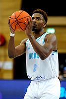 GRONINGEN - FIBA Basketbal-bubbel. Donar - Allianz Swans Gmunden seizoen 2021-2022, 29-09-2021,  Donar speler Donte Ingram