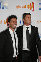 Reichen Lehmkuhl (Days & Y&R) & Rodney Santiago at the 21st Annual GLAAD Media Awards on March 13, 2010 at the New York Marriott Marquis, New York City, NY. (Photo by Sue Coflin/Max Photos)