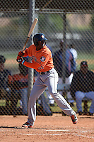 Houston Astros Jose Fernandez (61) during a minor league spring training game against the Atlanta Braves on March 29, 2015 at the Osceola County Stadium Complex in Kissimmee, Florida.  (Mike Janes/Four Seam Images)