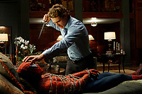 """""""Spider-Man 2""""<br />James Franco (Harry Osborn) and Tobey Maguire (Peter Parker/Spider-Man) <br />© 2004 Columbia / Sony Pictures"""