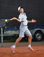 08-08-13, Netherlands, Rotterdam,  TV Victoria, Tennis, NJK 2013, National Junior Tennis Championships 2013, Christian Lerby<br /> <br /> <br /> Photo: Henk Koster
