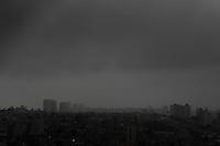 SAO PAULO, 10 DE FEVEREIRO 2012. CLIMA TEMPO CAPITAL PAULISTA. Vista do bairro do Jabaquara, regiao sul de SP, na tarde desta sexta-feira, 10. (FOTO: MILENE CARDOSO - NEWS FREE)