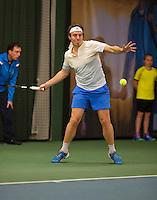 Januari 24, 2015, Rotterdam, ABNAMRO, Supermatch, Maarten Witte <br /> Photo: Tennisimages/Henk Koster