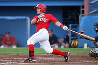 Batavia Muckdogs third baseman Alan Ahmady (9) during a game vs. the State College Spikes at Dwyer Stadium in Batavia, New York June 26, 2010.   State College defeated Batavia 9-8.  Photo By Mike Janes/Four Seam Images