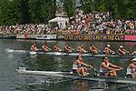 Rowing, Windermere Cup, Opening Day Regatta, Seattle, Washington, May 1, 2004 Lake Washington Ship Canal, Montlake Cut,