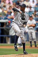 April 3, 2010:  Pitcher Wilkin Arias of the New York Yankees playing in the annual Futures Game during Spring Training at Legends Field in Tampa, Florida.  Photo By Mike Janes/Four Seam Images