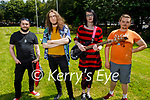 Attending the Pride Celebration in Pearce Park, Tralee on Saturday, l to r: Ryan Hurst, Michale Wagner, Robyn Clark and Mario Mannering.