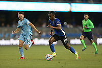 SAN JOSE, CA - AUGUST 17: Jeremy Ebobisse #11 of the San Jose Earthquakes before a game between Minnesota United FC and San Jose Earthquakes at PayPal Park on August 17, 2021 in San Jose, California.