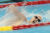 Toronto, Ontario, August 12, 2015. Devin Gotell competes in the swimming during the 2015 Parapan Am Games . Photo Scott Grant/Canadian Paralympic Committee