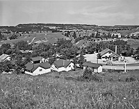 4x5 Log Cabin Court July 1950