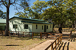 Anti-poaching building, Kafue National Park, Zambia