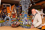 Eamon Mulvihill from Never Originals with some of the Fairy houses he is making at his workshop in Kilcummin