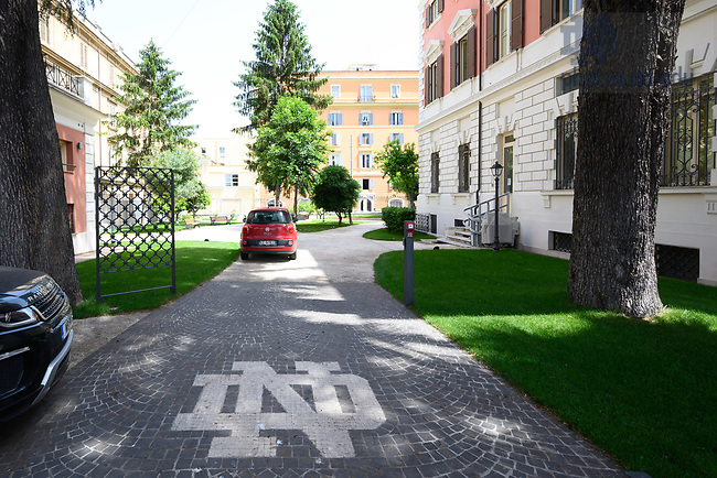 June 12, 2019; Rome student villa (Photo by Matt Cashore/University of Notre Dame)