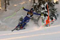 19th December 2020; Saslong, Val Gardena, Tyrol, Italy; International Ski Federation Alpine Ski World Cup, 2nd Men's Downhill, Val Gardena; Davide Cazzaniga (ITA)