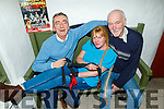 Launching the Braces and Garters Fun night in Betty's Bar on Sunday which is going ahead on Valentines night Friday 14th February. Seated l to r: to r: Jeffrey Horan, Caroline Clapham and  Eugene Murphy