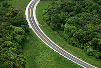 The new ROAD, AERIAL over PALAU, Micronesia