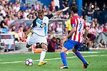 7at02/Atletico de Madrid's player Filipe Luis and Deportivo de la Coruña's player Faycal during a match of La Liga Santander at Vicente Calderon Stadium in Madrid. September 25, Spain. 2016. (ALTERPHOTOS/BorjaB.Hojas)