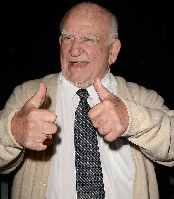 SMG_Ed Asner_FLXX_Lifetime Achievement Award_102313_01.JPG<br /> <br /> FORT LAUDERDALE, FL - OCTOBER 23: Actor Ed Asner is presented with the FLiFF Lifetime Achievement Award at The 28th Annual Fort Lauderdale International Film Festival at Cinema Paradiso. Mr. Asner's live performance of a scene from FDR, followed by a moderated Q&A about his career.  Edward Asner (born November 15, 1929), commonly known as Ed Asner, is an American film, television, stage, and voice actor and former president of the Screen Actors Guild. He is primarily known for his Emmy Award-winning role as Lou Grant during the 1970s and early 1980s, on both The Mary Tyler Moore Show and its spin-off series Lou Grant, making him one of the few television actors to portray the same leading character in both a comedy and a drama on October 23, 2013 in Fort Lauderdale, Florida.  (Photo By Storms Media Group) <br /> <br /> People:  Ed Asner<br /> <br /> Transmission Ref:  FLXX<br /> <br /> Must call if interested<br /> Michael Storms<br /> Storms Media Group Inc.<br /> 305-632-3400 - Cell<br /> MikeStorm@aol.com<br /> www.StormsMediaGroup.com