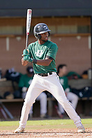 Ali LaPread (2) of the University of South Carolina Upstate Spartans in the Green and Black Fall World Series Game 2 on Saturday, October 31, 2020, at Cleveland S. Harley Park in Spartanburg, South Carolina. Green won, 6-5. (Tom Priddy/Four Seam Images)