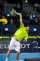 VALENCIA, SPAIN - OCTOBER 28: David Marrero during Valencia Open Tennis 2015 on October 28, 2015 in Valencia , Spain