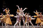 RAYMONDA..Choregraphie : PETIPA Marius,NOUREEV Rudolf.Compagnie : Ballet de l Opera National de Paris.Orchestre : Colone.Decor : GEORGIADIS Nicholas.Lumiere : PEYRAT Serge.Costumes : GEORGIADIS Nicholas.Avec :.GILLOT Marie Agnes:Raymonda.Lieu : Opera Garnier.Ville : Paris.Le : 30 11 2008.© Laurent PAILLIER / photosdedanse.com
