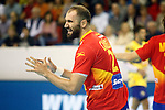 Spain's Joan Canellas during 2018 Men's European Championship Qualification 2 match. November 2,2016. (ALTERPHOTOS/Acero)