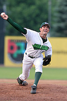 Jamestown Jammers Jay Buente during a NY-Penn League game at Russell Diethrick Park on July 9, 2006 in Jamestown, New York.  (Mike Janes/Four Seam Images)
