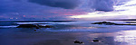 Australia Panorama - dusk at Stockton Beach in Anna Bay.  Port Stephens, New South Wales, Australia.<br /> <br /> Image taken on large format panoramic 6cm x 17cm transparency. Available for licencing and printing. email us at contact@widescenes.com for pricing.