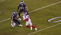 wide receiver Sterling Shepard (87) of the New York Giants hat den Ball - 09.12.2019: Philadelphia Eagles vs. New York Giants, Monday Night Football, Lincoln Financial Field