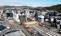 Wellington CBD at 9am, Tuesday during Level 4 lockdown for the COVID-19 pandemic in Wellington, New Zealand on Tuesday, 31 August 2021.