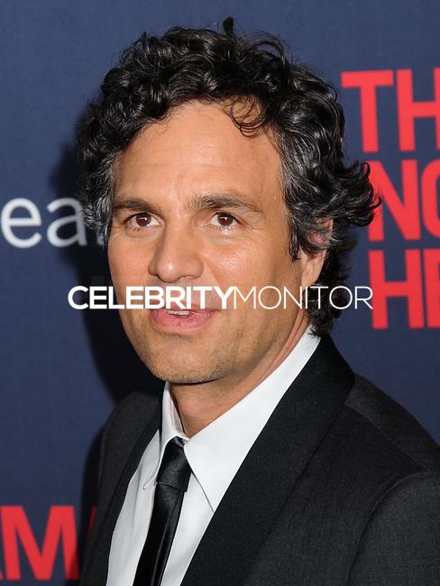 "NEW YORK CITY, NY, USA - MAY 12: Mark Ruffalo at the New York Screening Of HBO's ""The Normal Heart"" held at the Ziegfeld Theater on May 12, 2014 in New York City, New York, United States. (Photo by Celebrity Monitor)"