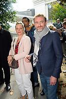 Jean-Paul ROUVE devant le studio Gabriel pour enregistrement de Vivement Dimanche TF1 - 20/9/2017 Paris, France # ARRIVEES AU STUDIO GABRIEL POUR ENREGISTREMENT DE VIVEMENT DIMANCHE TF1
