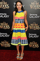 NEW YORK CITY, NY, USA - DECEMBER 08: Zoe Kazan arrives at the World Premiere Of Walt Disney Pictures' 'Into The Woods' held at the Ziegfeld Theatre on December 8, 2014 in New York City, New York, United States. (Photo by Celebrity Monitor)