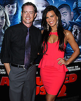 """LOS ANGELES, CA, USA - APRIL 16: Jason London, Natalie Burn at the Los Angeles Premiere Of Open Road Films' """"A Haunted House 2"""" held at Regal Cinemas L.A. Live on April 16, 2014 in Los Angeles, California, United States. (Photo by Xavier Collin/Celebrity Monitor)"""