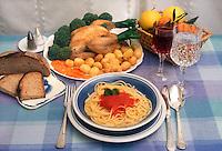 Dieta mediterranea. Mediterranean diet...