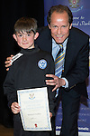 St Johnstone FC Youth Academy Presentation Night at Perth Concert Hall..21.04.14<br /> Alec Cleland presents to Mitcehll Findlay<br /> Picture by Graeme Hart.<br /> Copyright Perthshire Picture Agency<br /> Tel: 01738 623350  Mobile: 07990 594431