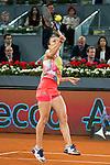 Romanian Simona Halep during WTA Final Mutua Madrid Open Tennis 2016 in Madrid, May 07, 2016. (ALTERPHOTOS/BorjaB.Hojas)