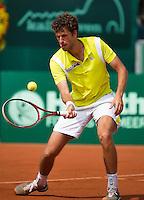 13-07-13, Netherlands, Scheveningen,  Mets, Tennis, Sport1 Open, day six, Robin Haase (NED)<br /> <br /> <br /> Photo: Henk Koster