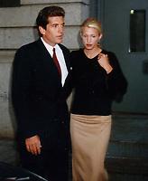 John Kennedy & wife Carolyn Bessette 1996<br /> Photo By John Barrett-PHOTOlink.net