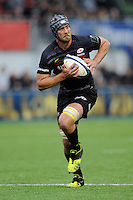 Alistair Hargreaves of Saracens in action during the European Rugby Champions Cup  Round 1 match between Saracens and ASM Clermont Auvergne at the Twickenham Stoop on Saturday 18th October 2014 (Photo by Rob Munro)