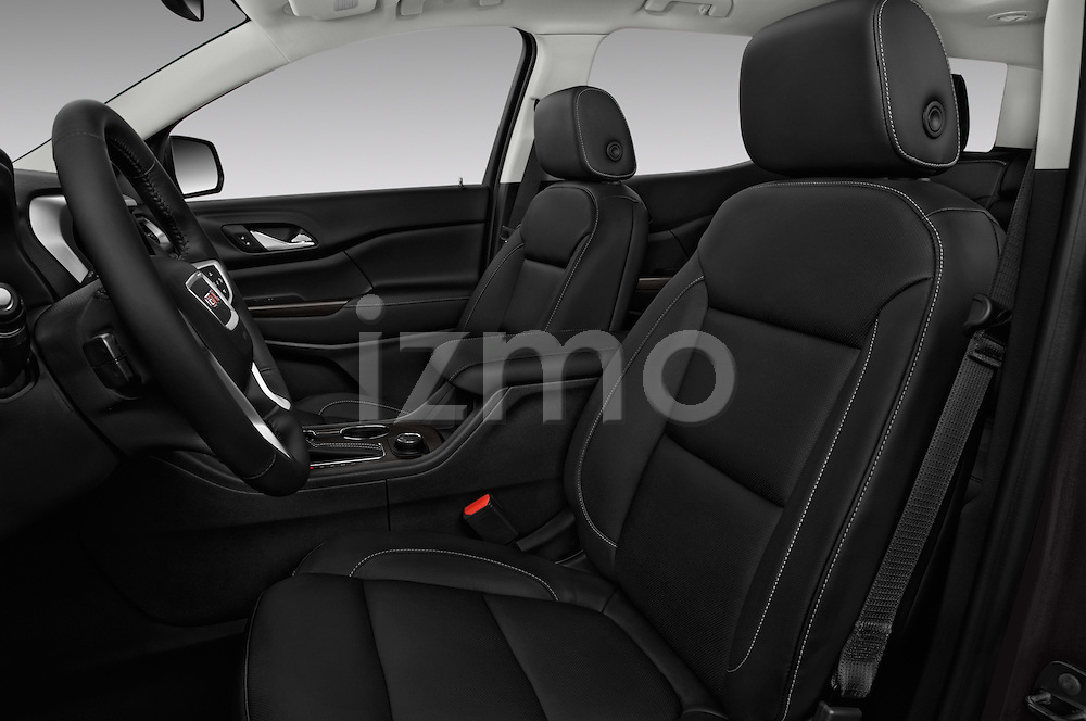 Front seat view of 2018 GMC Acadia SLT-1-FWD 5 Door SUV Front Seat  car photos